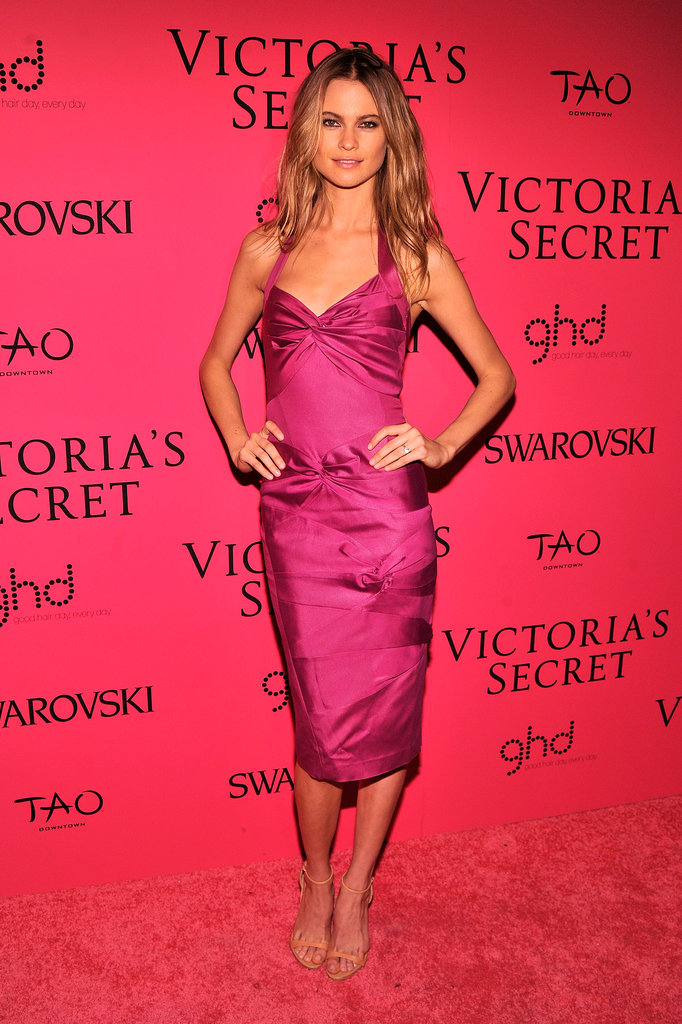 Behati Prinsloo at the Victoria's Secret Fashion Show.