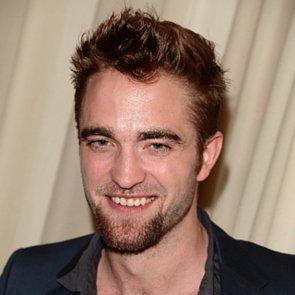 Robert Pattinson With a Goatee 2013