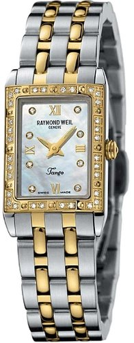 Raymond Weil Ladies Tango 2 Tone Bracelet Watch 5971-SPS-00995