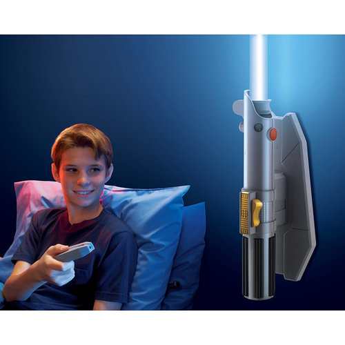 For 9-Year-Olds: Star Wars Remote-Controlled Lightsaber Room Light
