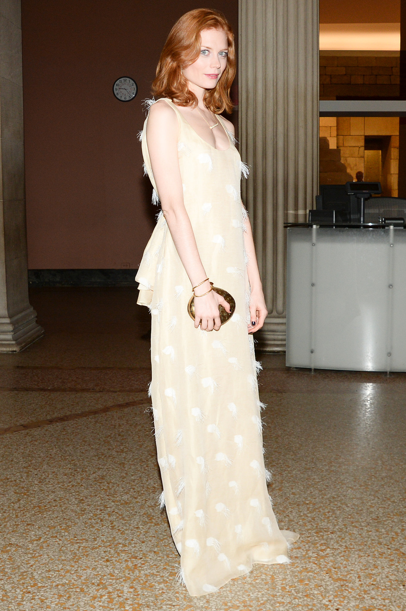 Jessica Joffe at The Metropolitan Museum of Art's Apollo Circle Benefit.