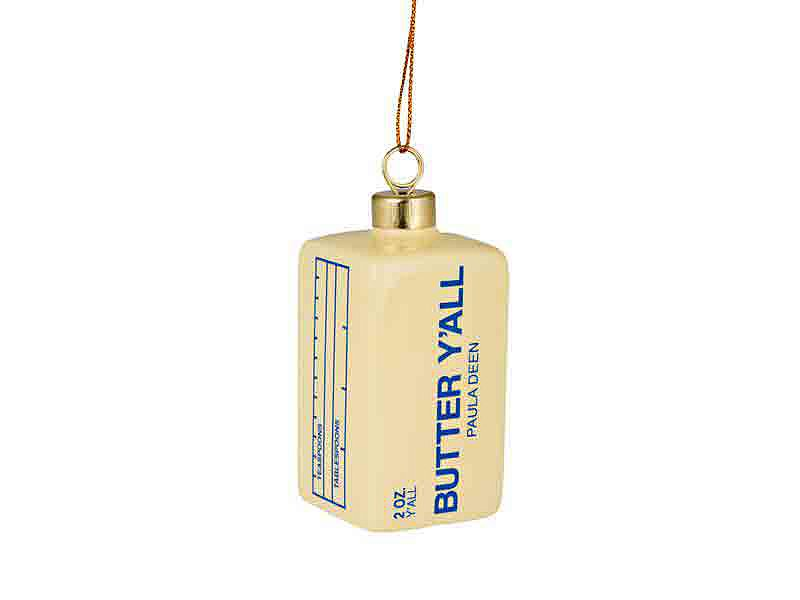 Butter Christmas Tree Ornament