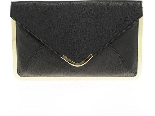 ASOS Metal Frame Envelope Clutch Bag