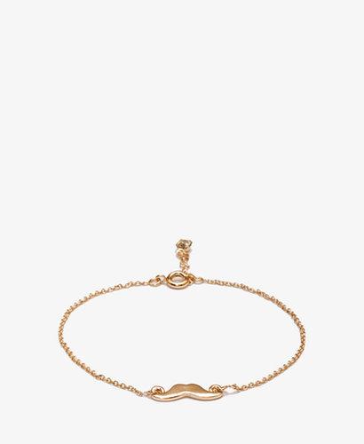 FOREVER 21 Mustache Charm Bracelet