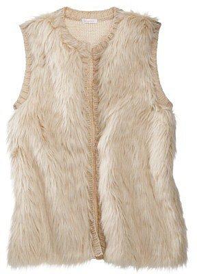 Xhilaration® Junior's Faux Fur Vest  - Assorted Colors
