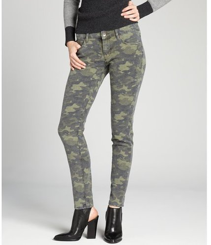 Cult of Individuality camo teaser skinny jeans