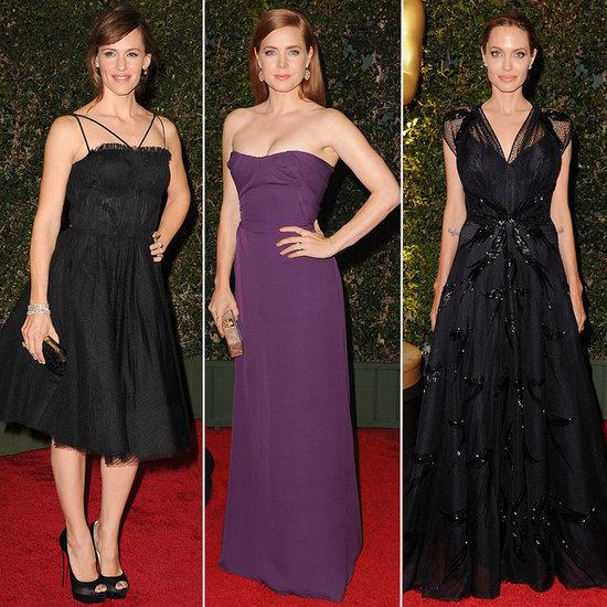 We Spy Angelina Jolie In an Oscar-Worthy Gown