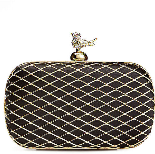 Franchi Handbag, Annabelle Bird Caged Minaudiere