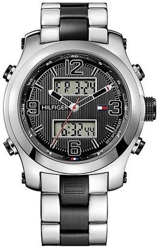 Tommy Hilfiger Ana-Digi Silicone Bracelet Watch, 46mm