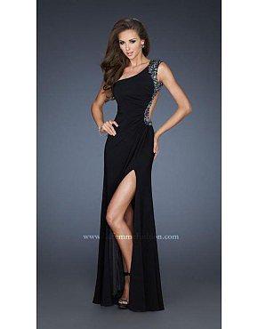 La Femme Gigi Prom Dresses 18805 Black