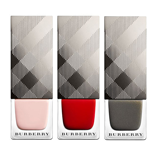 Can't afford to dress her hands in Burberry gloves? Why not go for the next best thing! The designer nail polish ($21 each) comes in an array of shades sure to suit her style.