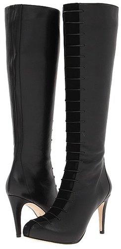 Cole Haan - Violet Air Tall Boot (Black/Black Suede) - Footwear