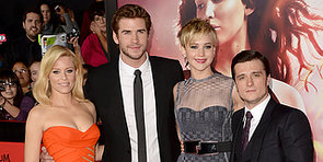 Jennifer Lawrence Goes Sheer at Catching Fire LA Premiere