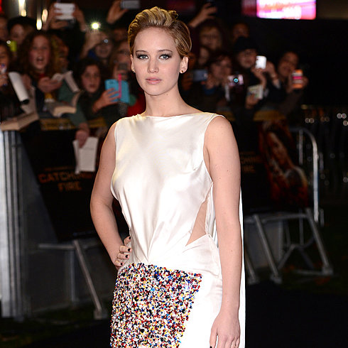 Jennifer Lawrence Gets Sick Promoting Catching Fire | Video