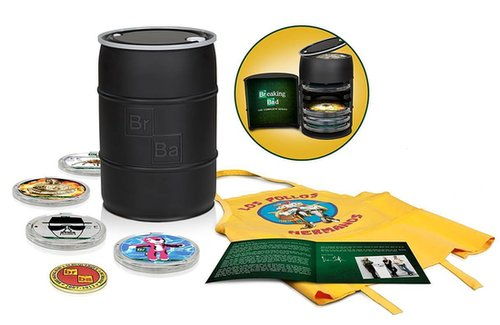 "Any Breaking Bad fan will be itching to get their hands on the complete series box set ($300). Not only does it come with every episode from all five seasons, but there's also 55 hours of bonus features, including deleted scenes, a gag reel, and interviews with the cast. Did I mention there's also a very special ""Pollos Hermanos"" apron? Now get cooking. — Becky Kirsch, entertainment director"