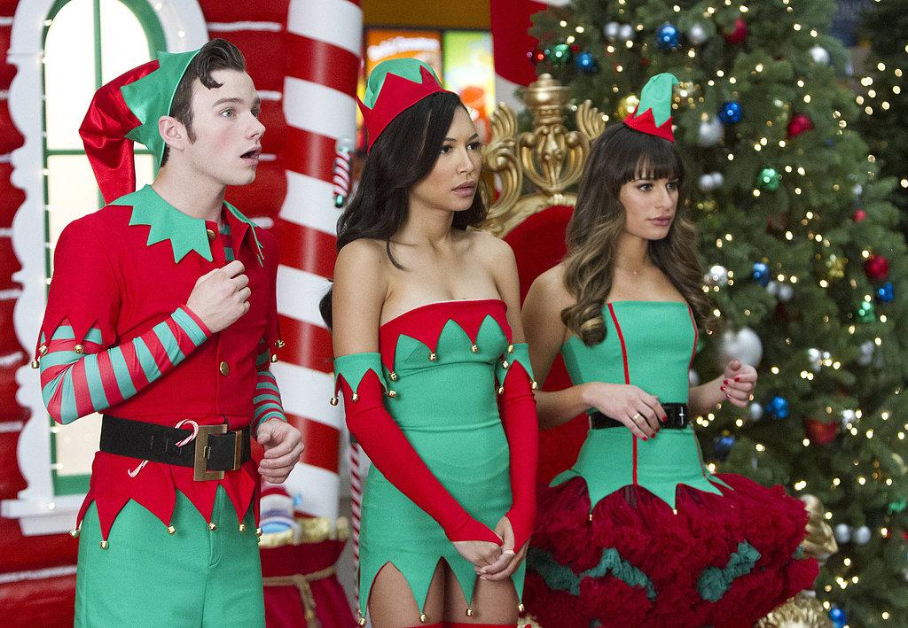 There's Snow Christmas Like a Glee Christmas!