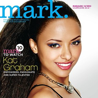 Kat Graham's Makeup For Mark Cosmetics Magalog