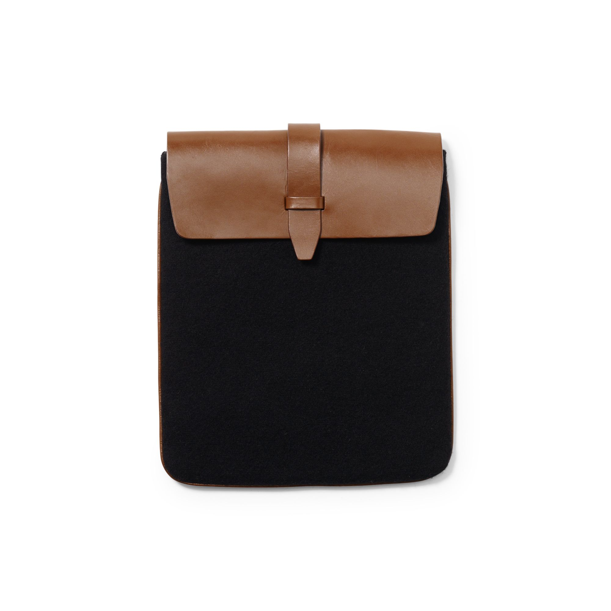 iPads aren't going anywhere any time soon, so more and more brands are coming out with stylish carrying cases. I love this Wool iPad Case ($60) from Club Monaco because it's simple, it's affordable, and it would match just about anything.  — Ryan Roschke, editorial assistant