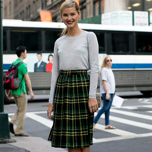 Five ways to wear a midi skirt