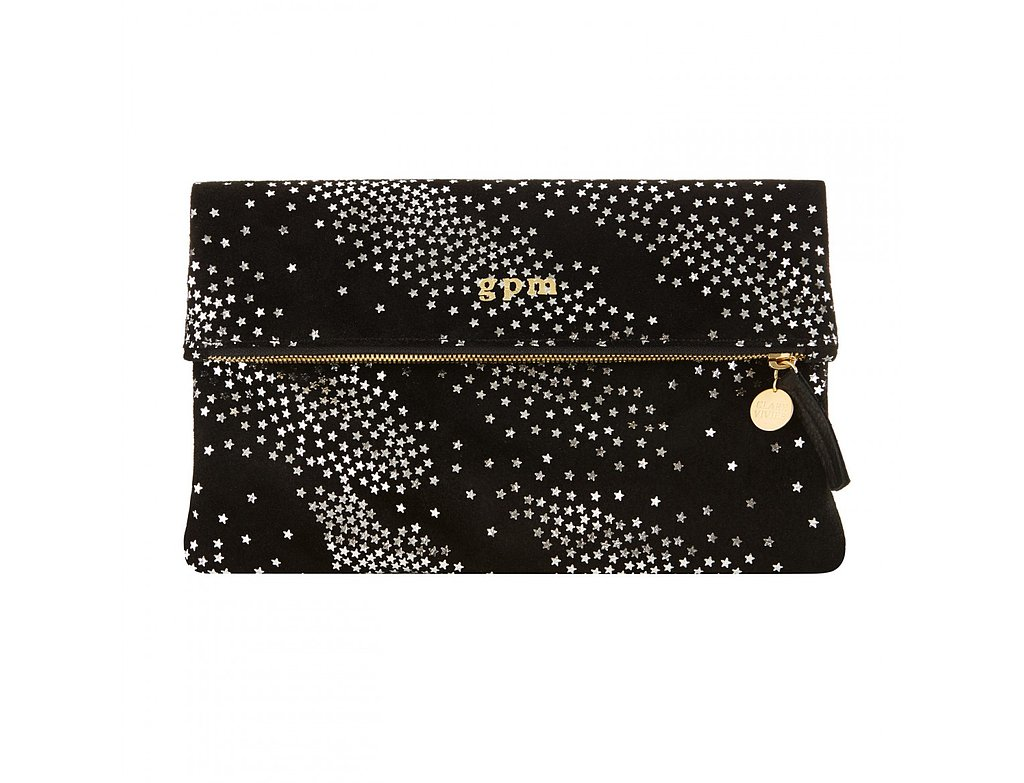 Gwyneth Paltrow is known for her simple, classic signature style, which she carries over into her Goop collaborations. This Goop exclusive Clare Vivier foldover star clutch ($260) is a perfect addition to any woman's bag collection. The black suede is luxurious, the stars are playful, and the size is perfect to grab for a night on the town.  — Molly Goodson, VP of content