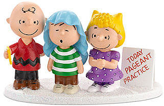 Department 56 Collectible Figurine, Peanuts Village 3 Part Harmony