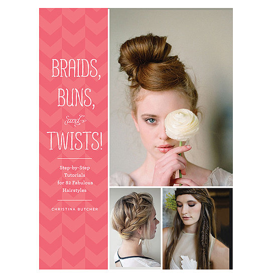 If our Pinterest feed is any indication, braids and buns are a perennial favorite. And in case you need even more inspiration, Braids, Buns, and Twists by Christina Butcher ($20) is a brand-new book filled with 82 different styles complete with illustrated tutorials. With this guide in my arsenal, I'm sure I can whip up a different look for every holiday party. Now if only there were a button to add each look to my Pinterest boards! — KD
