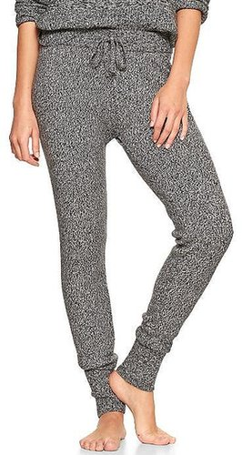 Marled leggings