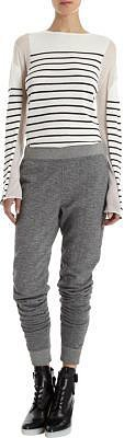 T by Alexander Wang Melange Sweat Pants