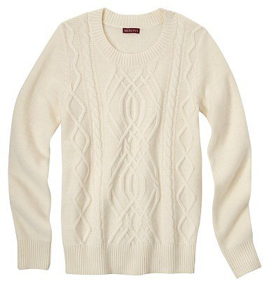 Merona® Women's Chunky Cable Sweater - Assorted Colors