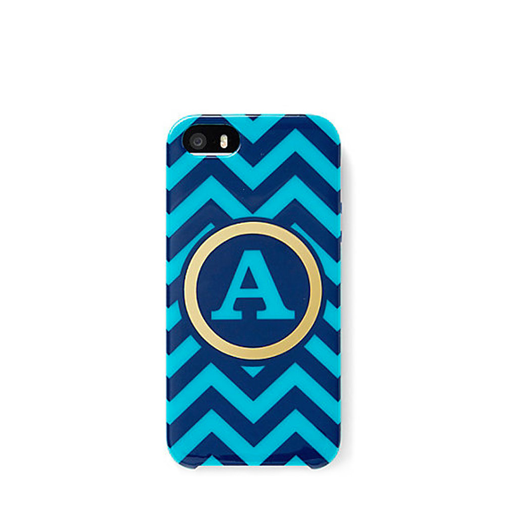 The C.Wonder chevron case ($35) can be customized for a personally preppy gift.