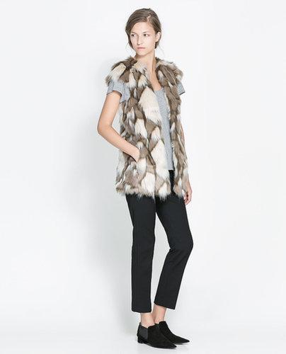 Long Fur Waistcoat