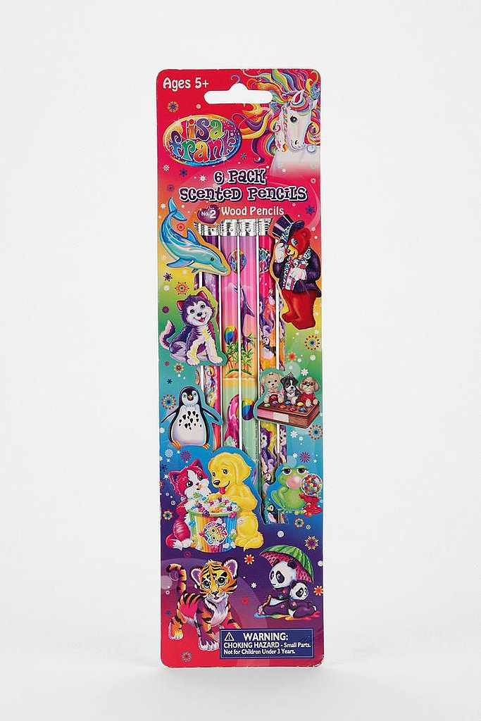 Lisa Frank Scented Pencils ($5)