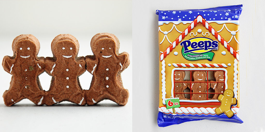 Peeps Get the Gingerbread Man Treatment