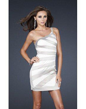 La Femme 17134 Homecoming Dress Champagne Sale