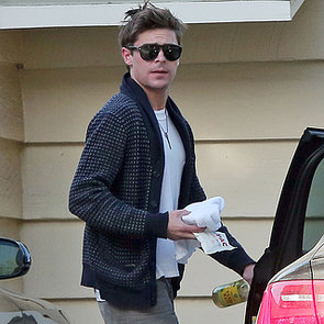 Zac Efron First Pictures Since Broken Jaw