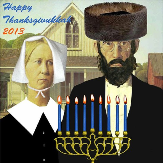 How to Celebrate Thanksgivukkah as a Couple