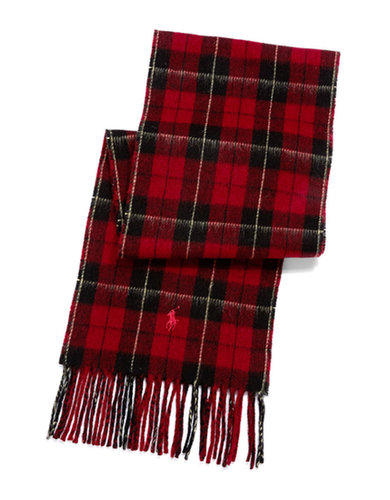 Plaid Wool Scarf | Lord and Taylor