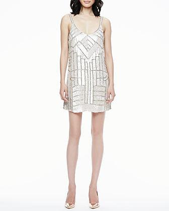 Parker Hayden Sleeveless Sequined Dress