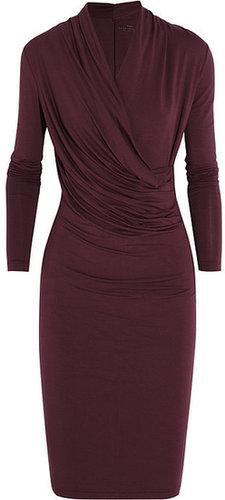 DAY Birger et Mikkelsen Wrap-effect stretch-jersey dress