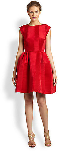 Lotusgrace Origami Pleated Party Dress