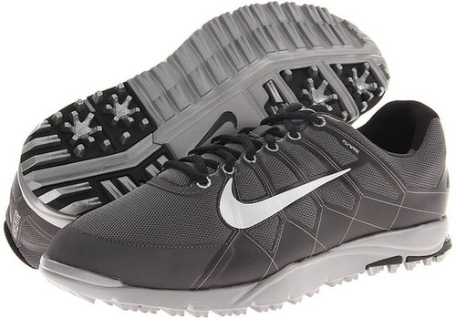 Nike Golf - Air Range WP II (Dark Grey/Midnight Fog/Black/Metallic Silver) - Footwear