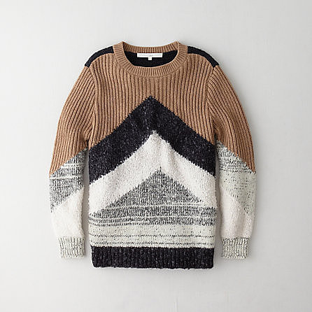 O'2ND arrow sweater