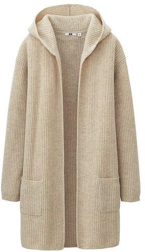 Women Heavy Gauge Sweater Coat