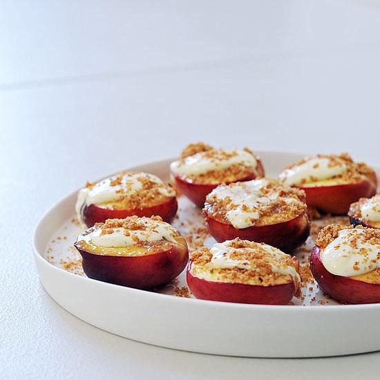 Easy: Honey-Baked Nectarines