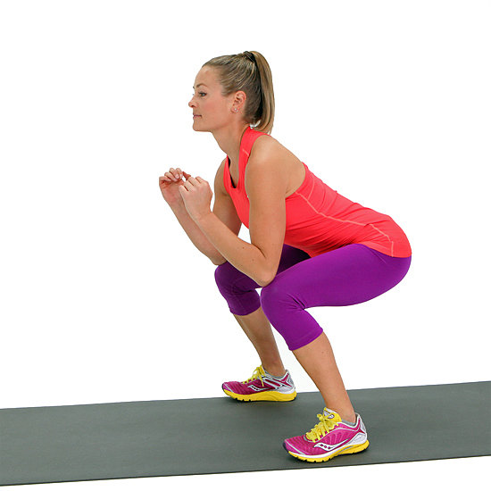 Best Way To Tone Thighs: Squat Workout