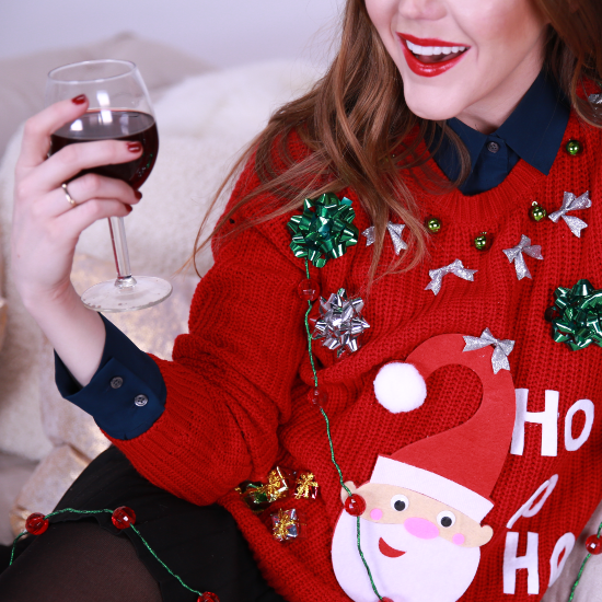 Christmas Jumper Party: DIY (Not So) Ugly Christmas Jumper!