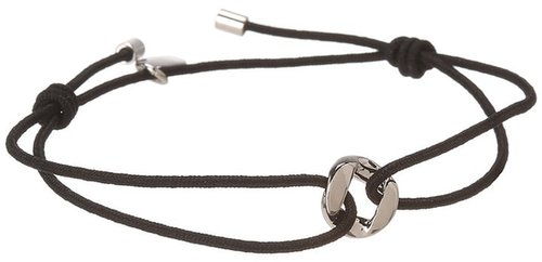 Marc by Marc Jacobs - Key Items Link Friendship Bracelet (Black) - Jewelry