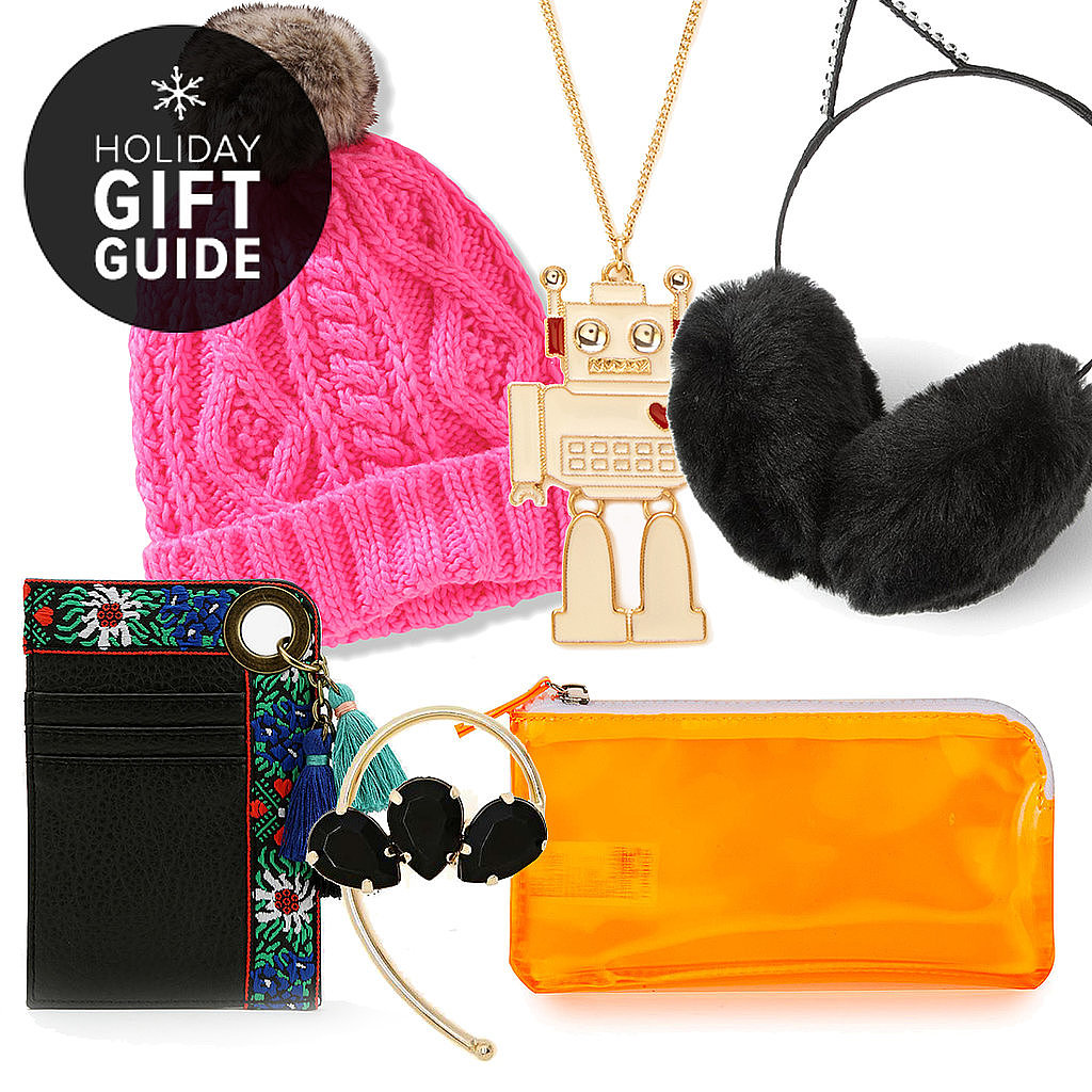 White Elephant, Yankee Swap, Dirty Santa — call it what you will, but the one thing that faithfully remains constant? The task of trying to find a cute, cheap gift that everybody will love. Thankfully, that's where POPSUGAR Fashion comes in. Not only will all of these baubles, wares, and accessories elicit glances of envy from other swappers — and maybe even a few chuckles — but they all ring in under $15. It's time to start swapping.