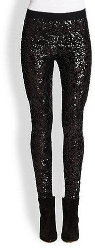 BCBGMAXAZRIA Sequin Pants