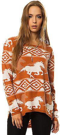 RVCA The Buddy Wild Horse Sweater